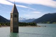 09-Reschensee mit Ortlergebirge