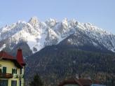 07-Toblach mit Berge